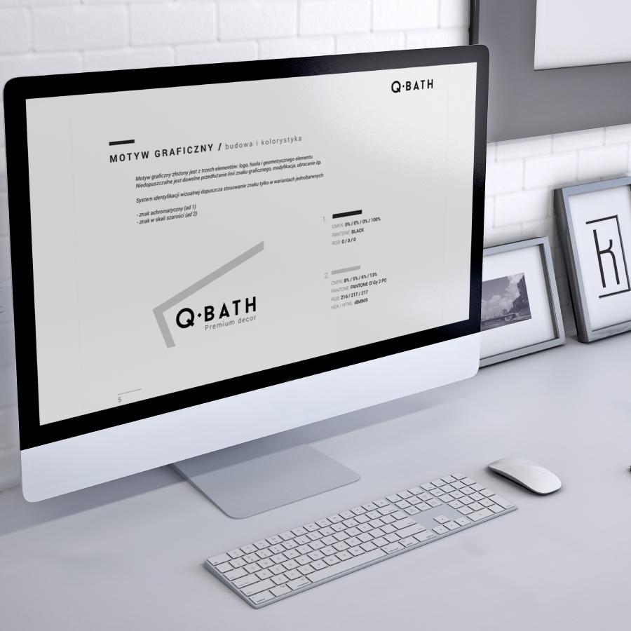3 opracowanie wariantow logo qbath