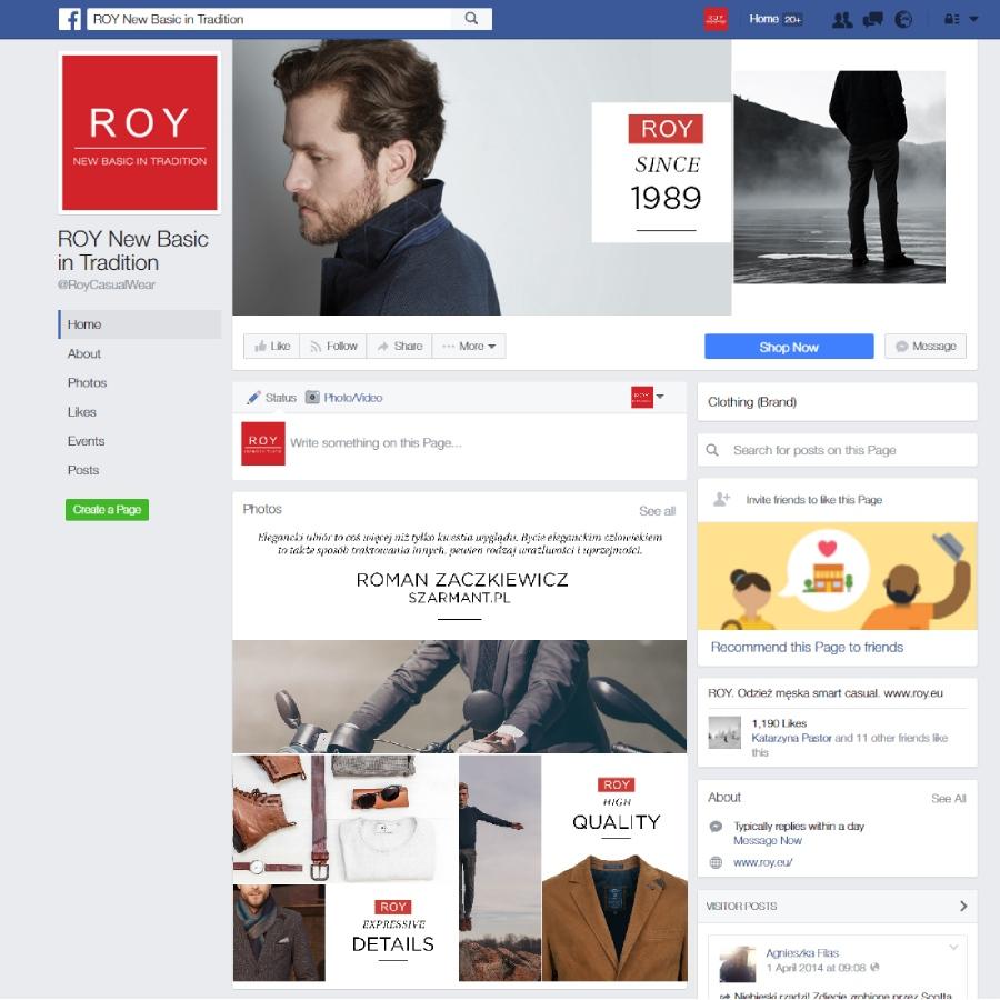 6 projekt facebook